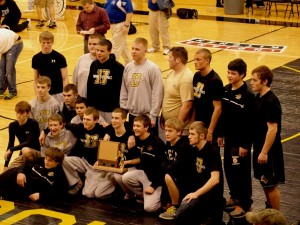 Delphi wrestlers wrap up conference