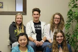 Five exchange students settle in Delphi
