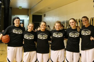 Girls' basketball says goodbye to seniors