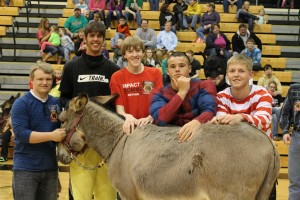 Donkey basketball comes to DCHS