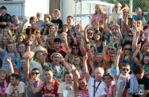 Student section brings energy to Friday nights