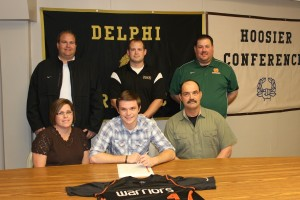 Sterrett signs with Indiana Tech