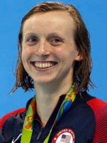 Katie Ledecky swimming past world records