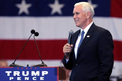 Governor Pence's rise to Vice President