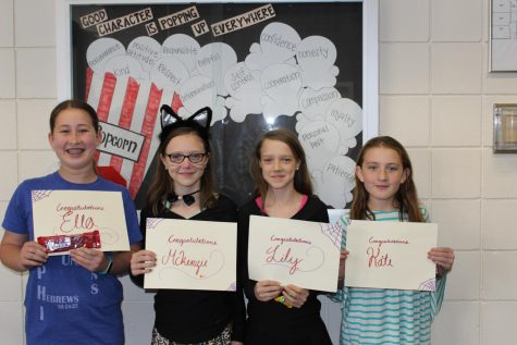 DCHS welcomes four exhange students