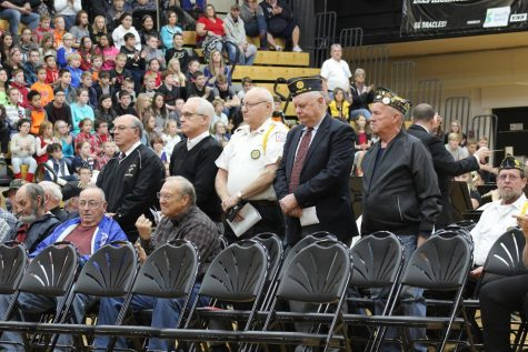 Over thirty local veterans were in attendance at this year's DCSC Veterans' Day program.