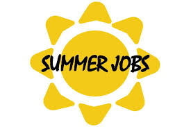 Available summer jobs
