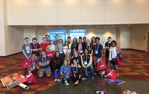 Students attend NBM printware show