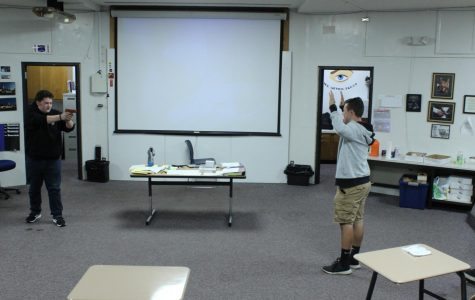 Criminal Justice class gets rolling