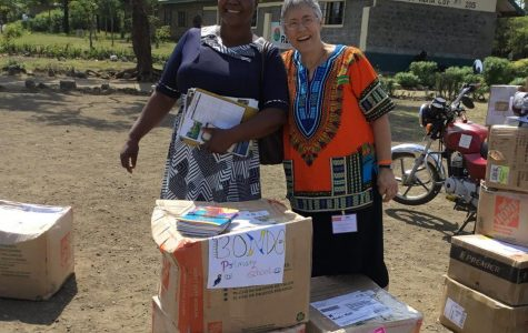 Kenyan students receive Delphi's African Library Project books