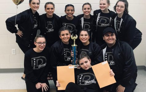 Delphi Dance Team's First Competition