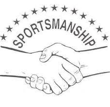 Keep the sportsmanship in sports