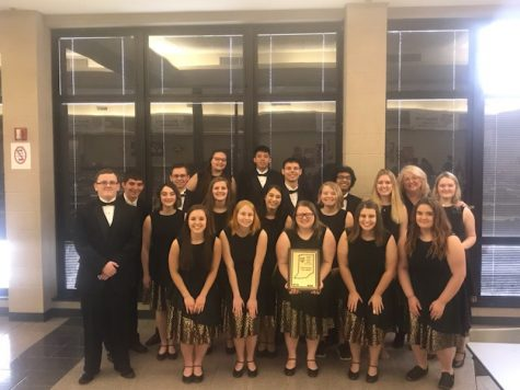 Entertainers at State Jazz Contest