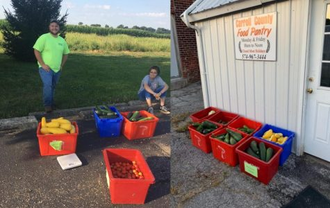 FFA's community garden wraps up second year of production