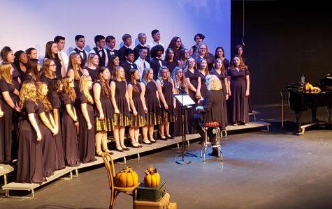 Fall choir concert a huge success