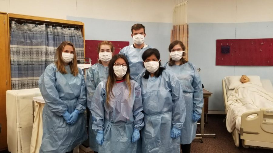 DCHS students train to become CNAs