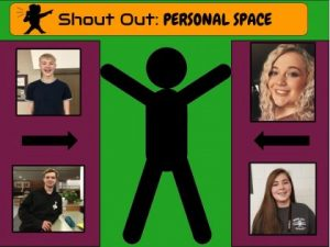 Students shout-out: My personal space
