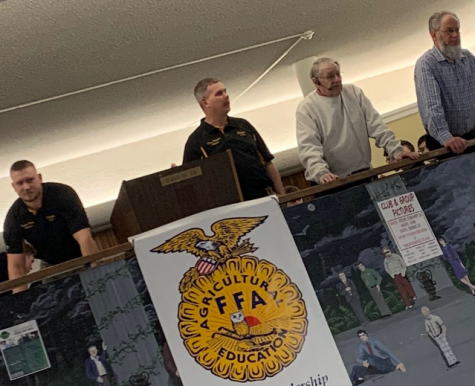 Delphi FFA's member auction took place last Tuesday, Feb. 25 in the high school cafeteria.