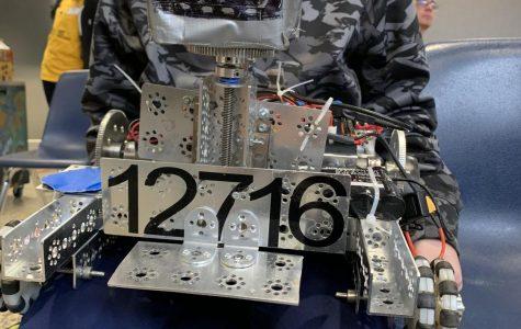 Robotics team finishes up season