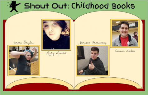 Student shout out: childhood books