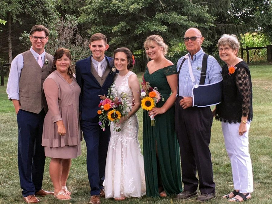 Mr. Painter's son married