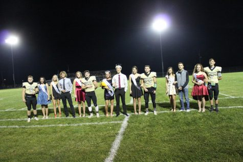 Delphi wins homecoming game; Marilyn Berto honored