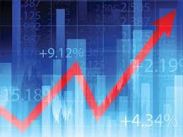 Stock market simulation in progress