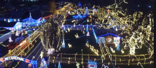 Where to find Christmas lights during this holiday season