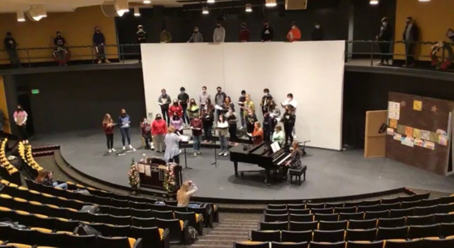 Delphi choir performs first concert of the year