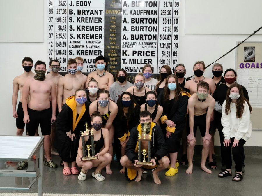 Swim team finishes rough season