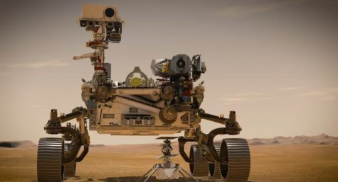 Perseverance the Mars rover