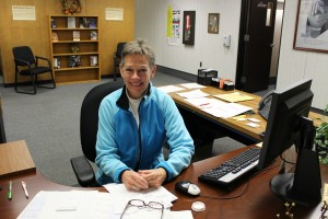 Ms. Mose, guidance secretary