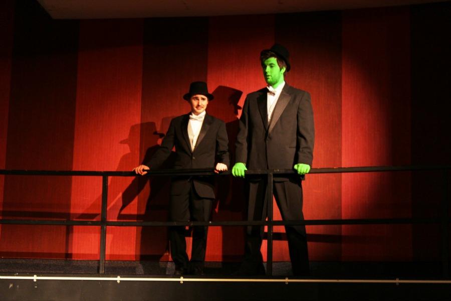Daniel Martin and Brandon Jefferies star in DCHSs rendition of Young Frankenstein.