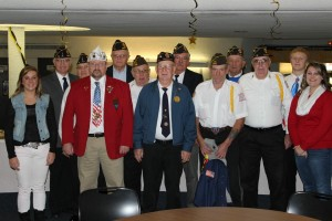 Local veterans were in attendance for the student-led Veterans Day program.