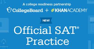 Khan Academy provides SAT prep