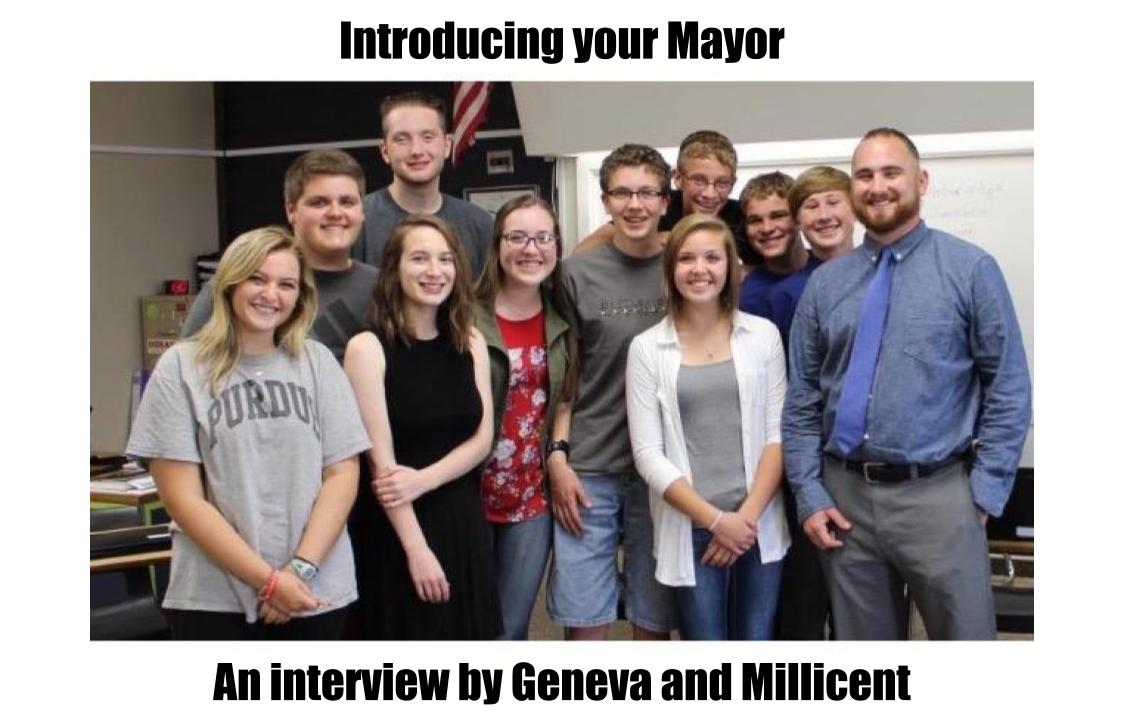Mayor Evans guest stars with Geneva and Millicent