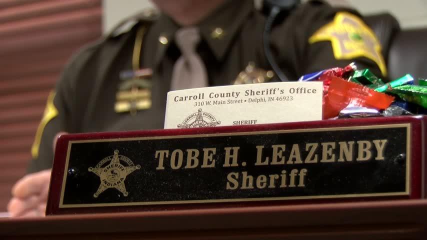 Sheriff Leazenby illustrates Carroll County's opioid protocol