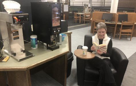 DCHS staff exclusives: Ms. Lawton furnishes LMC with coffee money