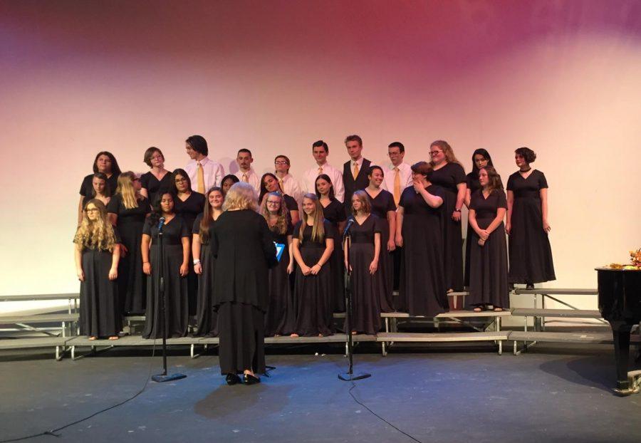 Delphi's first choir concert this year a success
