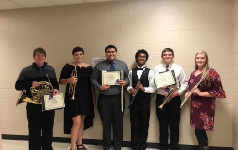 Students represent Delphi in Honor Band