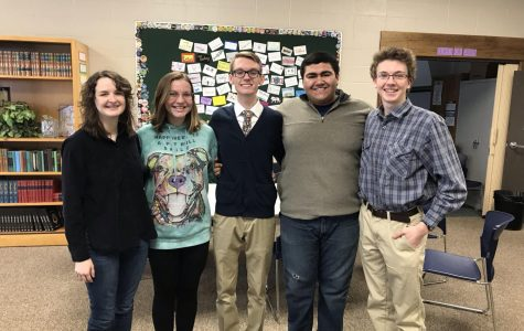 New NHS officers elected