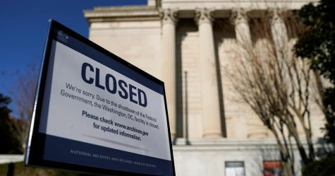 What was the government shutdown?