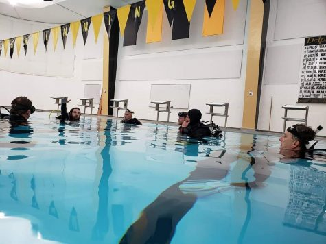 DCHS pool serves as new training ground for scuba diving