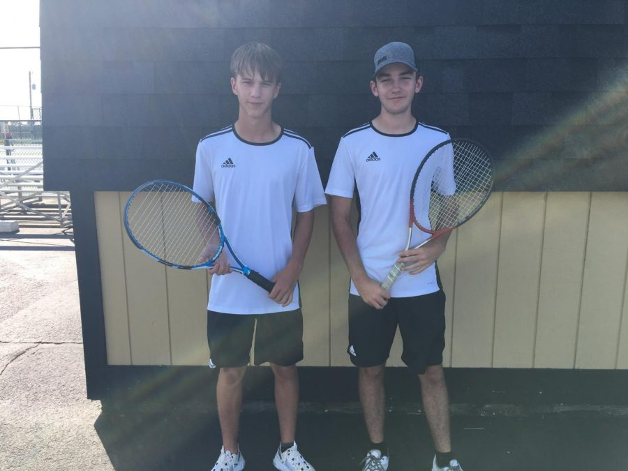 Tennis team starts strong
