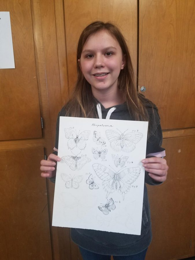 Artist of the month:  Zoe Callendar