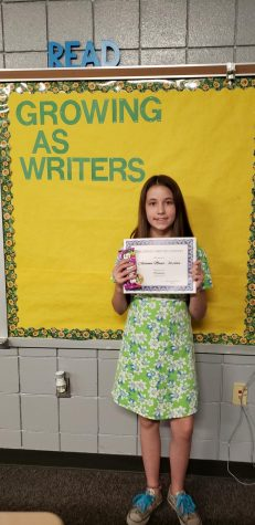 7th grade Halloween writing contest winners