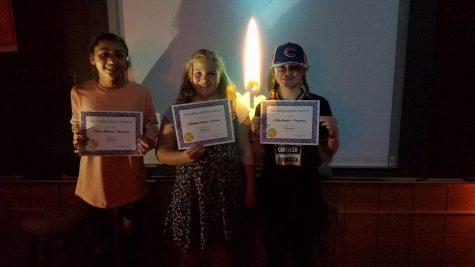 6th grade Halloween writing contest winning stories