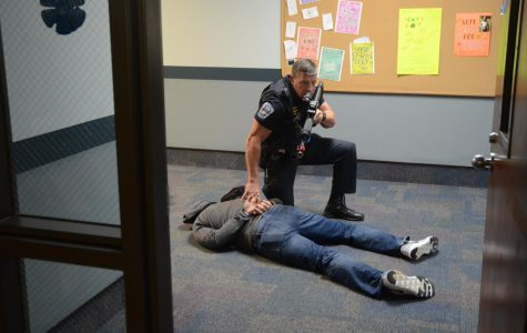Delphi criminology class participates in active shooter training