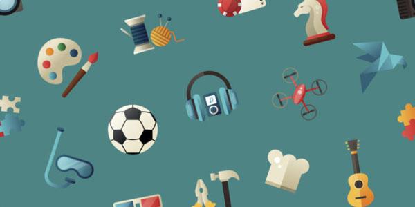 Recreational hobbies can reduce stress.