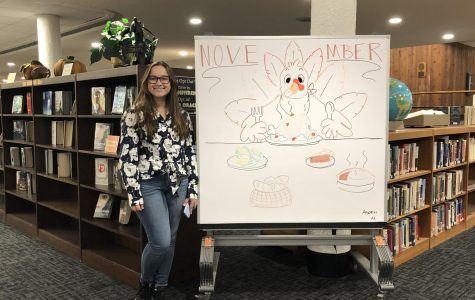 November's LMC whiteboard artist: Aspen Moyer